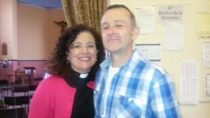 Cathy Leigh Gardiner and her husband Steve
